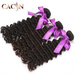 Commerce de gros de matières Indian Deep Curly cuticule alignés Sexe Filles chinoises Virgin Cheveux humains