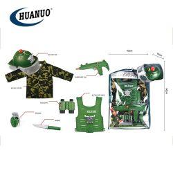 Het nieuwe Plastic Stuk speelgoed van het Spel van de Reeks van Jongens Militaire met Kostuums