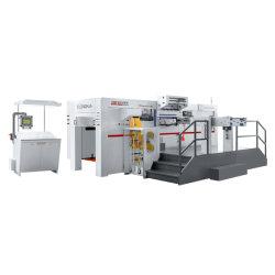 Haut de gamme feuille de papier automatique de l'alimentation feuille chaude et meurent Machine de découpe LH1050fh Die Machine de coupe