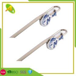 창의적인 꽃 모양 소프트 에나멜 맞춤형 금속 책갈피 프로모션 높음 금광 마크로 품질 메탈 북 마크 (13)