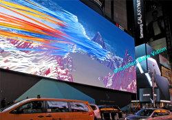 Vordere hintere Pflege im Freien HD 7500CD LED-Bildschirmanzeige (P10, das LED-Bildschirm bekanntmacht) für Hintergrund-Wand