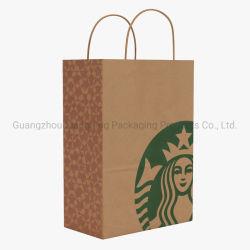 عرض مخصص الطباعة الملونة الساخنة تسوق هدية بابكيشيم حقيبة ورق الحامل