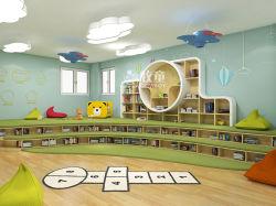 호화스러운 국제적인 데이케어 도서관 독서실을%s 취학 전 유치원 가구