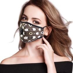 Steekproef van de Grootte van het Masker van de katoenen Luchtvervuiling van het Stof de Opnieuw te gebruiken Vrije