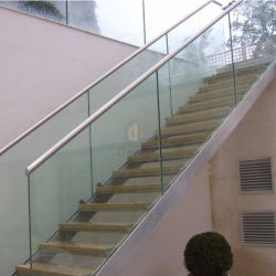 유리제 방책/나무로 되는 계단을%s 가진 층계 /Step 옥외 사다리