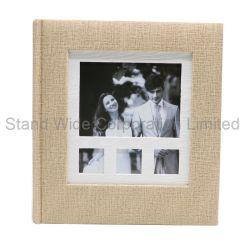5*7'', cubierta de papel de impresión con marco de fotos Álbum de fotos