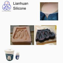 Le moulage du caoutchouc de silicone est utilisé pour Polyfoam en fonte