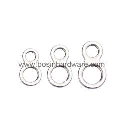 Нержавеющая сталь двойные отверстия кольца для рыбалки аксессуары для инструмента
