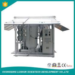 Strumentazione in linea ad alta tensione di depurazione di olio del trasformatore di vuoto