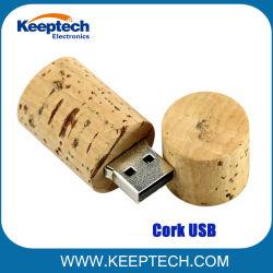 Keeptechのワインのコルクの形USBのフラッシュ駆動機構1GB - 128GB