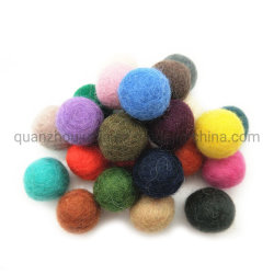 Haar Accessoires Kerst Decor Single Color Vilt Wool Ballen