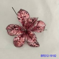 Небольшой головки Шелковый Рождество цветы красного цветов Xmas Poinsettia цветы