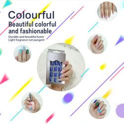 12 designs/ boîte artificielle d'emballage de faux ongle Conseils