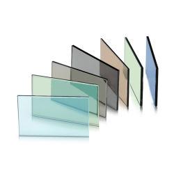 カスタムサイズの粉砕防止二重窓ガラスは熱によって低いE海洋のフォード増強された汚された青い染められた緩和されたガラスを模造した