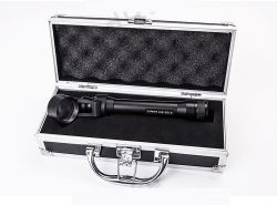 새로운 Portable는 Case를 가진 Slit Lamp Microscope를 손 붙들었다