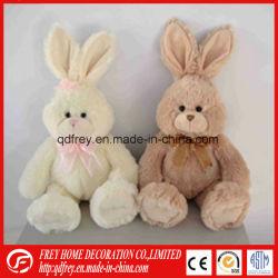 채워진 연약한 토끼의 아이 동물성 장난감