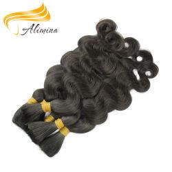 Virgem a granel Virgem de Cabelo encaracolado indiano Remy a granel de cabelo