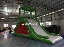 Надувные воду с плавающей запятой слайд для воды игры