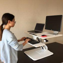 يجلس إرتفاع هوائيّة [ستندوب] قابل للتعديل أن يقف اعملاليّ يقف مكتب