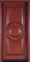 Cer bestätigte Sicherheits-/Copper-Panel-/Aluminiumpanel-gepanzerten chinesischer Klassiker-Entwurf geschnitzte einzelne Einstiegstür