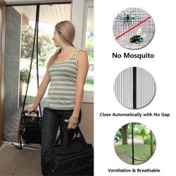 De Textiel slechts 100X210cm Magnetische Deur van het Netwerk van de Mug Netto voor Deur om Insecten weg te houden