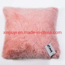Mejor vender Conejo Faux Fur cojines y almohadas con relleno (019-TM04)