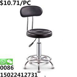 Salle à manger en cuir de PU de gros de la Silla dossier réglable Tabouret de bar Chaise haute pied