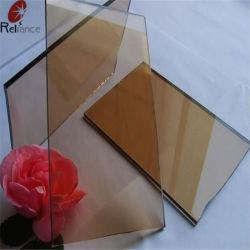 4-6mm verre réfléchissant avec le Bronze Bleu Vert Gris
