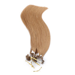 ループMicro Ring Hair 1g/S 50g/Pack 100%年のHuman Micro Bead Links Remy Hair Straight Extensions #613 Blonde