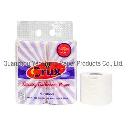 Salle de bains de gros de tissus d'usine de papier toilette 2 & 3 plis pâte vierge avec le service OEM