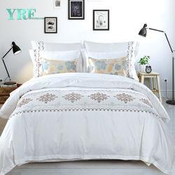 Роскошные кровати высокого качества многоцветный лист задания мягких в двуспальную кровать