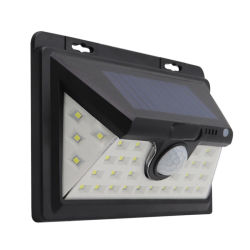 Jardin à bas prix de l'énergie IP65 Powered LED montées en surface de la batterie du capteur de lumière mural extérieur luminaires étanches