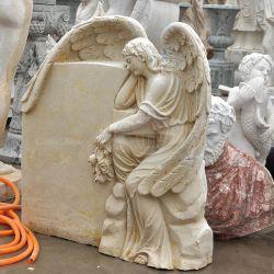 Angel Monument en marbre pierre GSME Henadstone (-143)