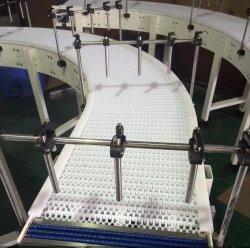 Nastro trasportatore di plastica modulare per la riga del pacchetto di industria alimentare