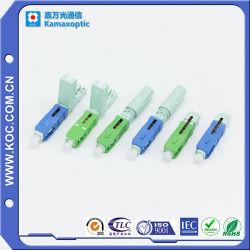 Shenzhen-konkurrierende Hersteller-Bereich-besteigbare Faser-Optikstecker
