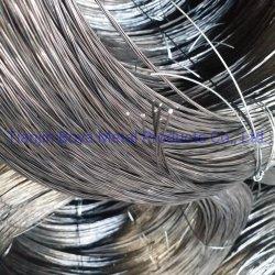 El negro hierro recocido alambre retorcido Soft Material de construcción de la fábrica de alambre vinculante de la barra de hierro