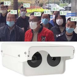 IRの熱探知カメラの無接触スクリーニングのリアルタイムのオンラインアラーム容易な使用の赤外線温度Mの人間の額の臨時雇用者ネットワークIPのサーモグラフィーとDm60-Ws1