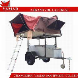 Il rimorchio di campeggio/sgrana duro il rimorchio di campeggiatore superiore della tenda del tetto