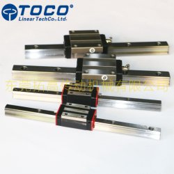 Rail de guidage linéaire de tocométrie Diapositive HGH15 HGH20 pour l'industrie générale de la machinerie