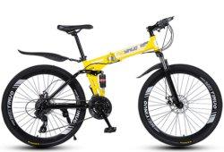 L'adulto scherza la bicicletta di alluminio della montagna della bici MTB della strada del carbonio pieghevole