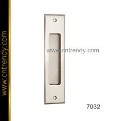 La palanca de bloqueo de hardware de la puerta interior de la placa de muebles de mango (7032)