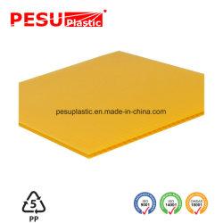 Feuille de plastique ondulé en PP