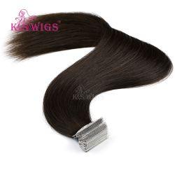 الشريط اللاصق في شريط لاصق PU Skin Weft مربوط باليد تمديدات الشعر البشرية Remy من دون أي مشاكل 16 بوصة 20 بوصة 24 بوصة