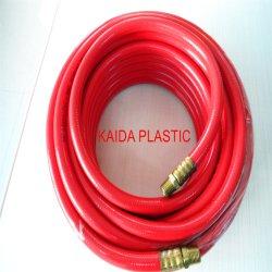 3/8 poll. X 50 PIEDI Tubo flessibile aria in PVC tubo flessibile aria in PVC blu con raccordo maschio e femmina