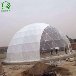 사치품 PVC 일요일 대피소를 위한 방수 바닷가 돔 천막