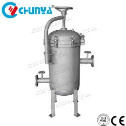 Cartucho de fiação por extrusão de água em aço inoxidável do alojamento do filtro de cartucho