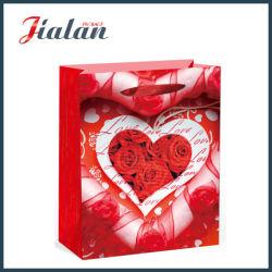 BSCI Fashion Valentine's Day Emballage de cadeau des sacs de papier