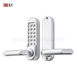 Cerrajero Heavy Duty Banco Hotel Botón mecánico Lockset del teclado digital de acceso sin llave de bloqueo de seguridad de contraseña