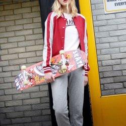 La moda al aire libre de la mujer de algodón tejida mayorista de ropa deportiva mujer ropa personalizada Tracksuits'