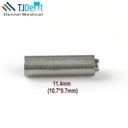11.4mm DENTAL HANDPIECE Accessoires Bouton poussoir de pièces de rechange Chuck la fusée